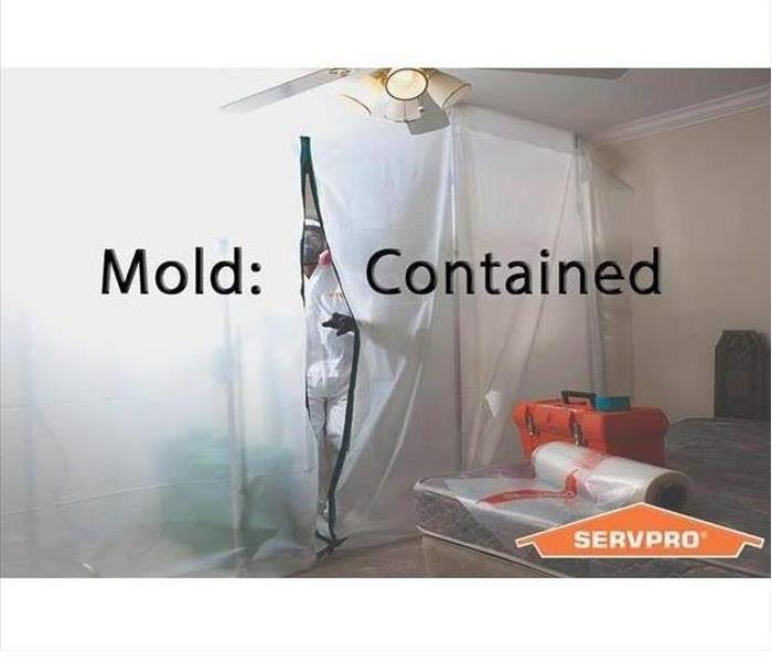 containing mold - negative air pressure chamber